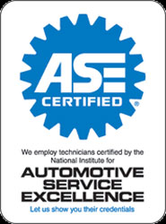 ASE Certification Sign